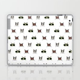Cats Wearing Sunglasses Pattern Laptop & iPad Skin