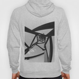Power pole black and white Hoody