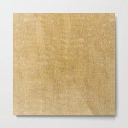 Black Limba Wood Metal Print
