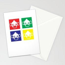 Save Monkey Stationery Cards