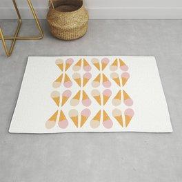 Ice Cream Cone Print Rug