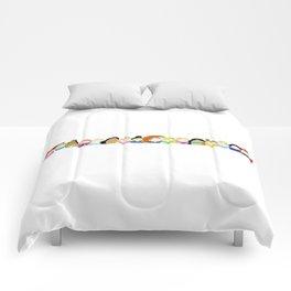 Pretty Princess Line Up Comforters