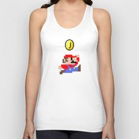 mario Tank Tops featuring Mario by eARTh