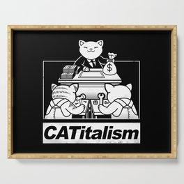CaTitalism Serving Tray