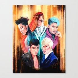 Fantastic Five Canvas Print