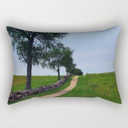 Pathway to the sky Rectangular Pillow
