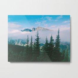 Azurite Peak Metal Print