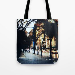 New York City Yellow Cabs Tote Bag