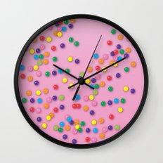 Donut Sprinkles Wall Clock