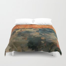 Panelscape Iconic - The Scream Duvet Cover