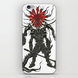 Against Man iPhone Skin