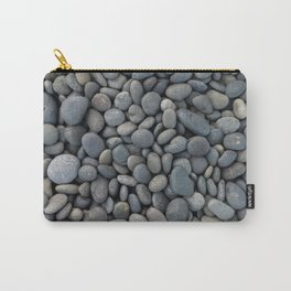 Gray pebbles Carry-All Pouch