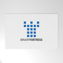 Binary Fortress Software (blue logo) Welcome Mat