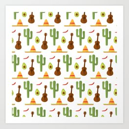 Mexican style Art Print