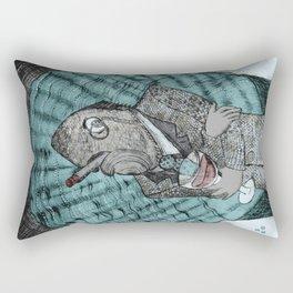 Smells like fish Rectangular Pillow
