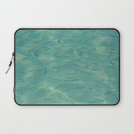 Swimming in the Clear Tropical Water Laptop Sleeve