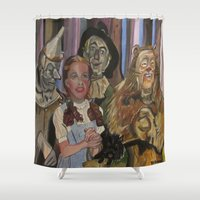 oz Shower Curtains featuring OZ  by Robert E. Richards