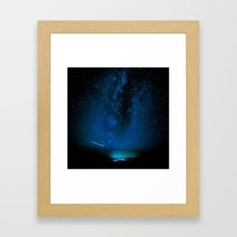 Arizona Summer Nights Framed Art Print