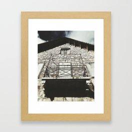 Village Hotel Photograph Framed Art Print