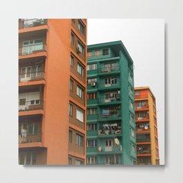 Colors of homes Metal Print