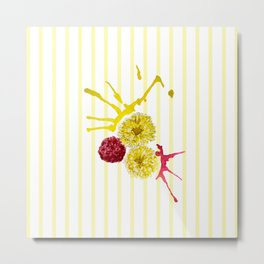 watercolor  flower bouquet Metal Print