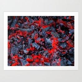 Firewalk Art Print