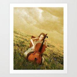 Meadow Dreams Art Print