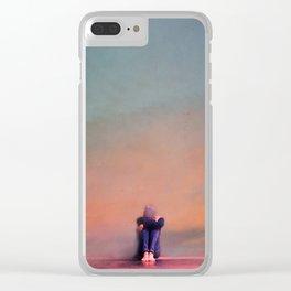 Silence Clear iPhone Case