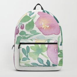 Pink and Green Backpack