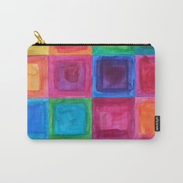 Tiled abstract 1 Carry-All Pouch