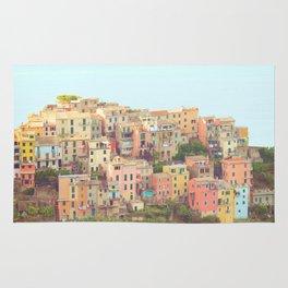 Colorful Houses Rug