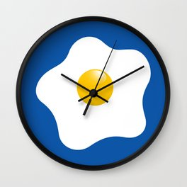 EGG tastic - the sunny side up Wall Clock