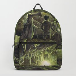 Harry and Dumbledore in the Horcrux Cave Backpack
