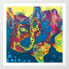Mermaid Musings Art Print