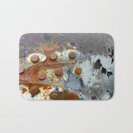 Rusty Bolts Bath Mat