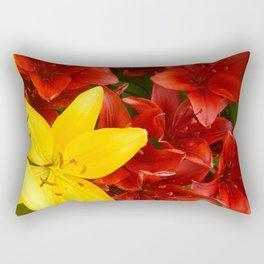 """A Gathering of Lilies"" - 1 [D4465~12] Rectangular Pillow"