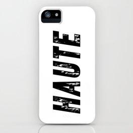 Haute (High) iPhone Case