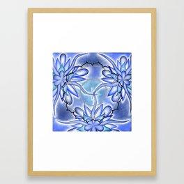 Throat Chakra Framed Art Print