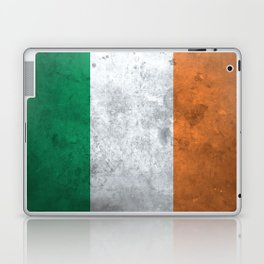 Distressed Irish Flag Laptop & iPad Skin