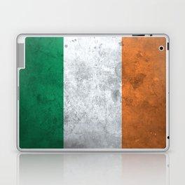 Distressed Irish Flag Laptop & iPad Skin
