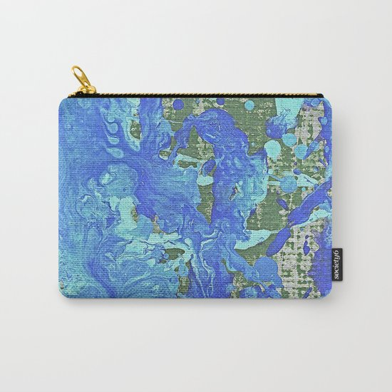 Water Flow On The Earth Carry-All Pouch
