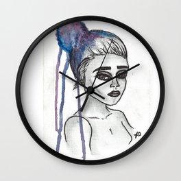Galaxy Thoughts Wall Clock