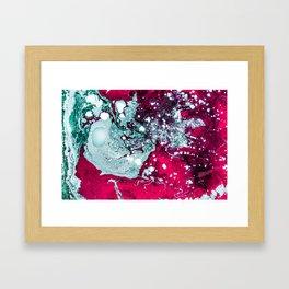 Liquid madness Framed Art Print