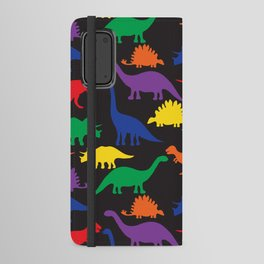 Dinosaurs - Black Android Wallet Case