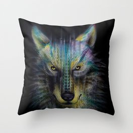 wolf_1 Throw Pillow
