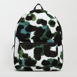 Abstract Green & Blue Backpack