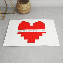 stay determined Rug
