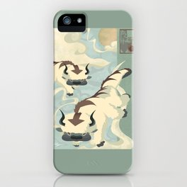 Original Bending Masters Series: Sky Bison iPhone Case