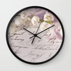 Loveletter Wall Clock