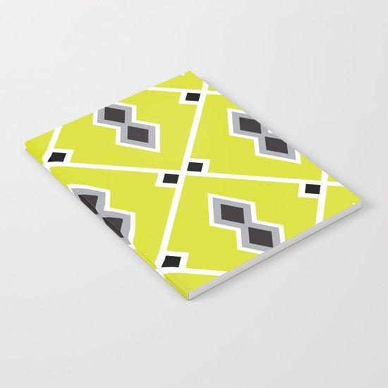 Neon Aztec Notebook